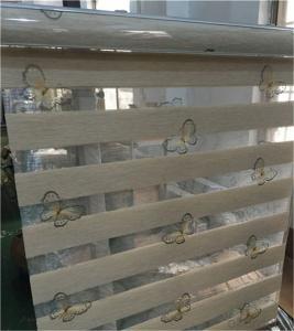 sunscreen fabrics customized zebra blinds for living room