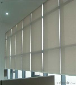 Half blackout pvc roller blinds for home decoration