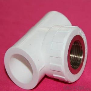 PPR Brass Inserts for Water Pipes PPR Female TEE