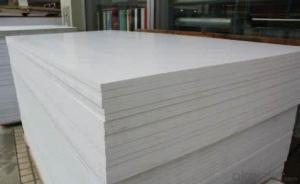 PVC foam board rigid PVC foam board/High density foam plastics sales black/white PVC foam