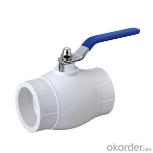 Ball Value of PPR Pipes for Hot and Cold Water Conveyance with Safety Guaranty