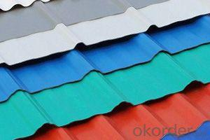 Corrugated Coated Mirror Stainless Steel Fiber Roofing Sheet