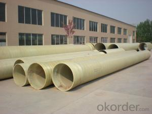 High Pressure FRP GRE Pipe Large Diameter Underground Pipes