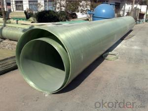 Fiberglass ring frp round pipe pultrusion on hot sale