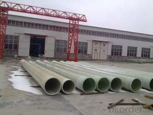 Non toxic FRP Pipe without consequent pollution On Sales