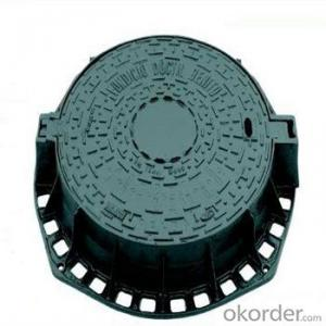Ductile Iron Manhole Cover with Grp Sealing Plate