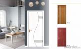 Middle-east & Europe style wpc door waterproof door for indoor room