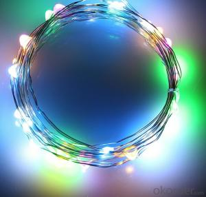 Colorful Copper Wire String Lights for Outdoor Indoor Party Christmas Garden Decoration