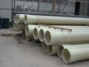 Fiberglass winding GRP FRP pipe price fittings Pipe for sale