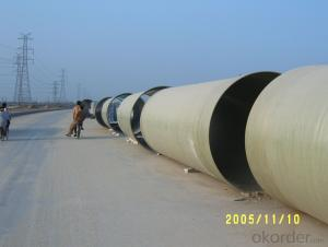 Non Toxic FRP Pipe with Long life span On Hot Sales