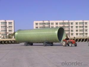 Maintenance Free FRP Pipe with without consequent pollution For Sales