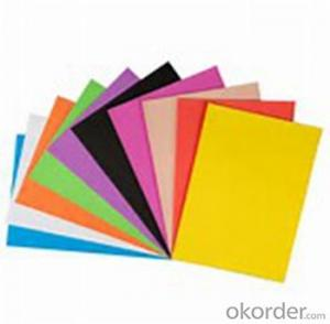 4X8 pvc Plastic Sheet pvc Foam Board for Advertisement