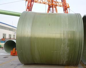 Light Weight FRP Pipe With Convenient And Quick Installation