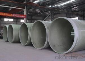 Fiberglass winding GRP FRP pipe price fittings Pipe