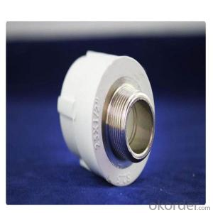 PPR Male Coupling and PPR Socket with Brass