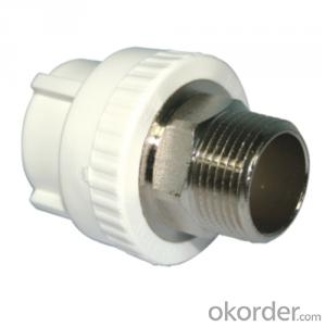 PPR Pipe Fittings PPR round tube Male Threaded Coupling