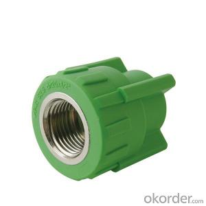 PPR Pipe and Fittings Female coupling and Equal coupling from China