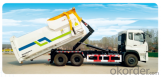 Detachable carriage garbage truck,environmental truck