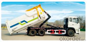 Detachable Carriage Garbage Truck,Environmental Sanitation Truck
