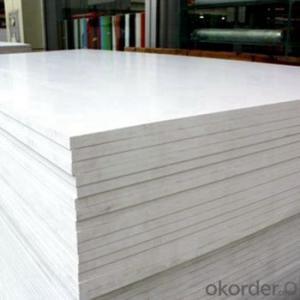 PVC foam board clear co-extruded pvc foam sheet
