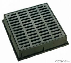 Ductile Iron Manhole Cover for Industry Made by Professional Manufacturer