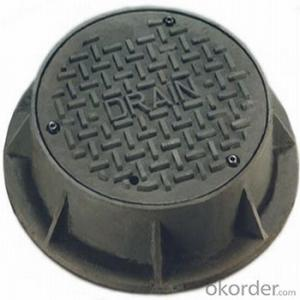 Ductile Iron Manhole Cover With China OEM