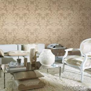 Wallpaper From China Metallic Bedroom Non Woven Wallpaper Adhesive