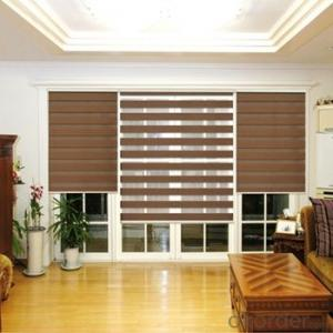 roller blind with double fabrics customized  for home decoration