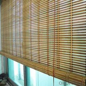 Wood Blinds with Chinese Countryside Style Roller Blinds