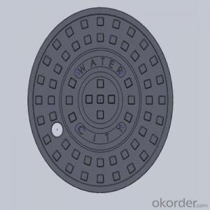 Ductile Iron Manhole Cover with Competitive Quality