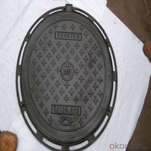 Ductile Iron Manhole Cover EN124 B125 for Industry
