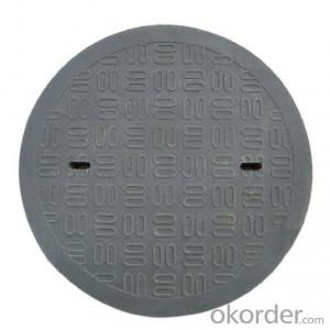 Ductile Iron Manhole Cover with Customized Designs