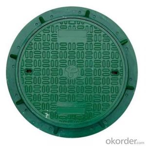 Ductile Iron Manhole Cover with Square and Round Shape