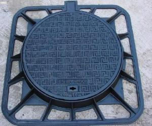 Ductile Iron Manhole Cover B125 for Mining