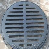Ductile Iron Manhole Cover of Grey with Heavy Duty
