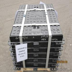 Ductile Cast Iron Manhole Cover D400 with Ranges of Sizes