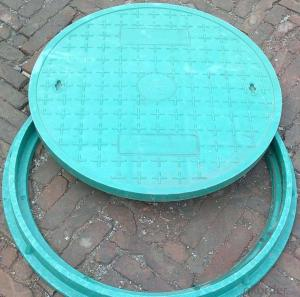 Septic Tank Ductile Cast Iron Manhole Cover  for Outdoor floor Drain
