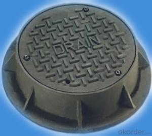 Municipal Application En124 Ductile Iron Manhole Cover