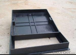 Ductile Iron Manhole Cover with ISO9001 B125