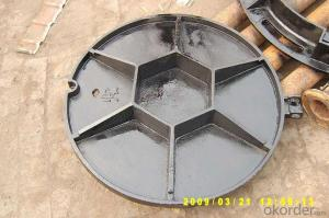Ductile Cast Iron Manhole Cover High Quality Food Grade Epoxy Coating with Press Lock Zipper