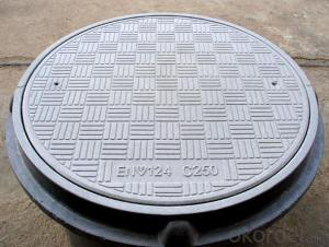 Ductile Iron Manhole Cover with  High Strength