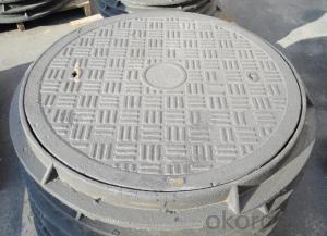 Ductile Iron Manhole Cover with Square or Round Hot Sale in China