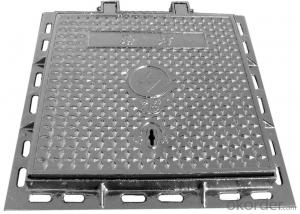 Ductile Iron Manhole Cover with New Style for Industry