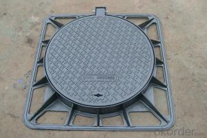 Economical Durable Easy Using Ductile Iron Manhole Cover
