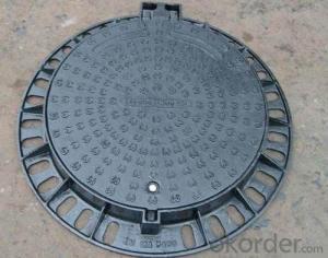 Ductile Iron Manhole Cover C250 and D400 EN124