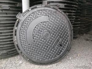 Ductile Iron Manhole Cover with Different Gratings in China
