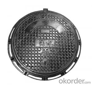 Ductile Cast Iron Manhole Cover B125 with Customed Colors
