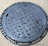 Ductile Iron Manhole Cover with EN124 B125