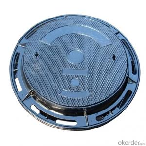 Ductile Iron Manhole Cover with EN124 Standard for Construction
