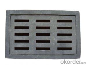 Ductile Iron Manhole Cover B125 with Ranges of Colors